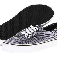 Vans Authentic™ (Tiger) Black/True White - Zappos.com Free Shipping BOTH Ways