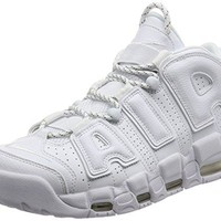 Nike Mens Air More Uptempo Mid Basketball Shoe