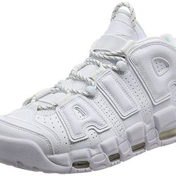Nike Mens Air More Uptempo 96 Triple White 921948-100 Size 7