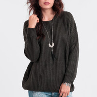Wilderness Wanderer Oversized Sweater