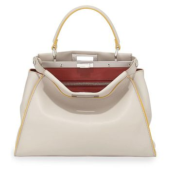 Fendi Tricolor Medium Peekaboo Bag