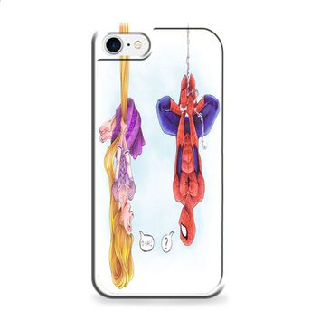 disney tangled and spiderman 2 iPhone 7 | iPhone 7 Plus case