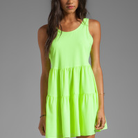 Lovers + Friends Angel Tank Dress in Lime from REVOLVEclothing.com