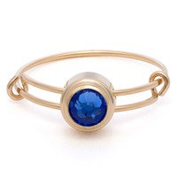 Sapphire Truth Sacred Studs Ring