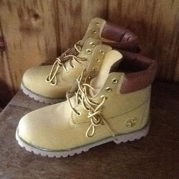 Timberland Work Boots Women's Size 8