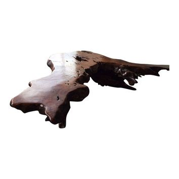 Pre-owned Burl Root Big Sur Coffee Table