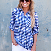 Picnic Plaid Button  Up