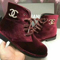 CHANEL Women Trending Fashion Boots
