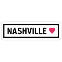 'Nashville' Sticker by alison4