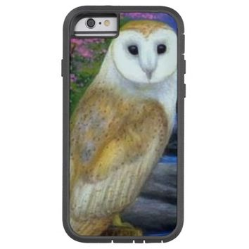 cute white owl case