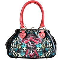Jane Purse Muerta Flora by Too Fast Apparel