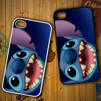 disney stitch V0919 LG G2 G3, Nexus 4 5, Xperia Z2, iPhone 4S 5S 5C 6 6 Plus, iPod 4 5 Case