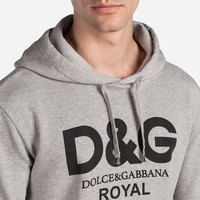 Dolce & Gabbana Casual Fashion Long Sleeve Hoodie  Letter Print Long Sleeve Sweater G-KWKWM