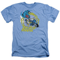 DC/BATGIRL MOTORCYCLE - ADULT HEATHER - LIGHT BLUE -