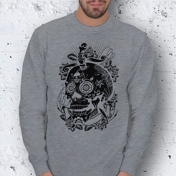 Skull Men Basic Sweatshirt / Special Production (Limited Edition)