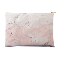 Pink Marble Pouch