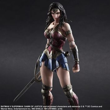 BATMAN V SUPERMAN: DAWN OF JUSTICE PLAY ARTS -KAI- WONDER WOMAN