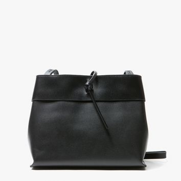 Kara / Tie Crossbody in Black