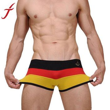 LMFYN5 JECKSION 2016 Hot on sale Men's Sexy calzoncillos hombre Boat Anchor Underwear Nightwear Boxer Shorts Underpants Germany