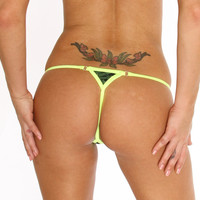 Dancers G String New Marijuana Fashion Stripper Clothing