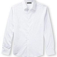 Vince Camuto Long-Sleeve Woven Sportshirt