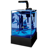 Aqueon Cue LED Blue Moonglow Aquarium Kit 2.5 gal