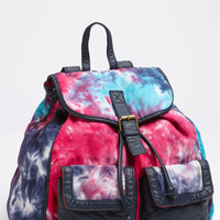 T-Shirt & Jeans Tie Dye Backpack (Girls) | Nordstrom