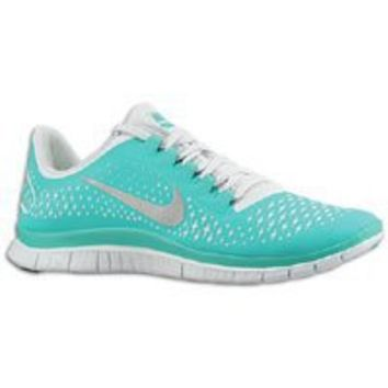 Nike Free 3.0 v4 Aqua Green/White Trainers Running Work Men Shoes 511457 300
