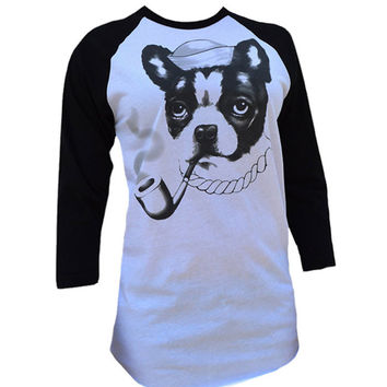 Smokey Womens Raglan Baseball Tee