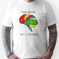 The Brain of a Fangirl Unisex T-Shirt