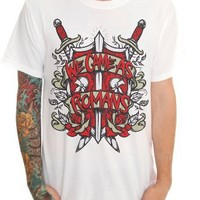 We Came As Romans Red Shield Slim-Fit T-Shirt 2XL Size : XX-Large