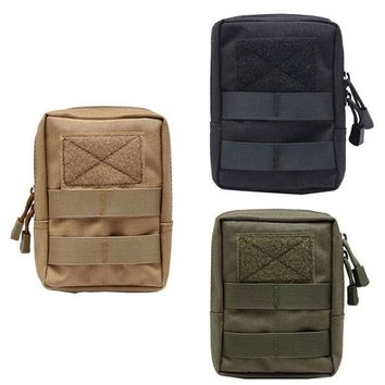 VONE05L Newest 600D Military Tactical Life Bag Multifunctional Tool Pouch EDC Springs Hinge Hunting  Durable Belt Pouches Packs Outdoor