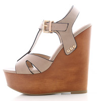 Nature Knock Wedges | Platform Wedges at Pink Ice