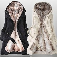 Sexy & warm cotton coat