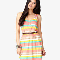 Colorblocked Knit Dress