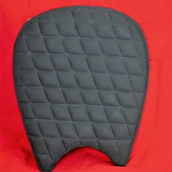 Motorcycle Seat Gel pad Cushion for Large Touring Seats with Back rest Cut.