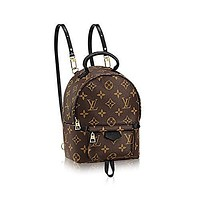 Authentic Louis Vuitton Monogram Canvas Palm Springs Backpack Mini Handbag Article: M41562 Made in France Tagre™