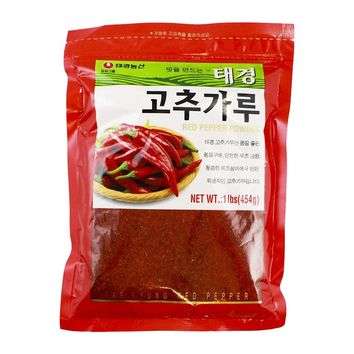 Tae Kyung Korean Gochugaru Chili Pepper Flakes, 1 lb