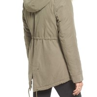 Maralyn & Me Anorak with Faux Fur Trim | Nordstrom