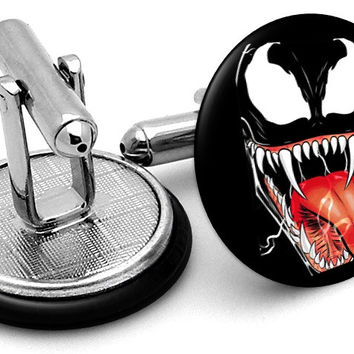 Venom Portrait Cufflinks