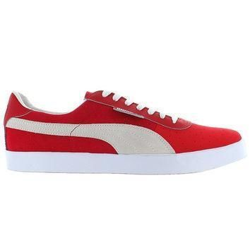 puma g vilas red suede low top sneaker  number 1