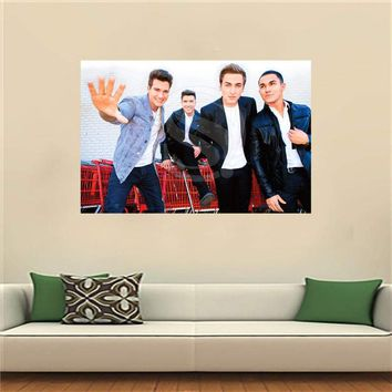 WJY510N38 Big Time Rush in Cologne Canvas Painting Wall Silk Poster cloth print Custom Print your image Fabric Poster F26