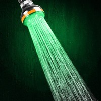 LED Color Changing Showerhead
