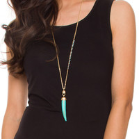 Little Wanderer Necklace Set - Turquoise