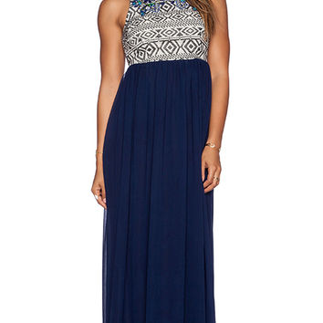 Tularosa Montera Dress in Navy