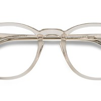 Shade | Champagne | Women Acetate Eyeglasses | EyeBuyDirect