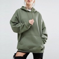 Women Korean Style Kpop Cotton Hoodie