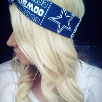 Dallas Cowboys NFL Dolly bow