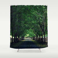 Welcome Home Shower Curtain by RDelean