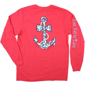 Anchor Bow-Tie Ashley Rose LS